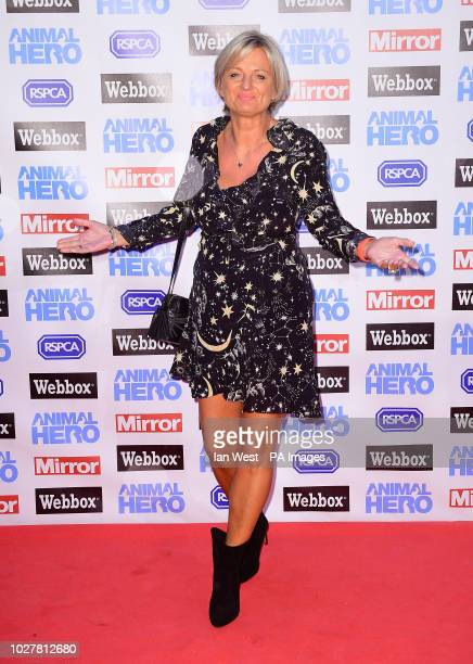 Alice Beer attending the Animal Hero Awards held at the Grosvenor House Hotel, London.