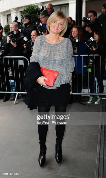 Alice Beer attending the TRIC Awards at the Grosvenor House Hotel in London.