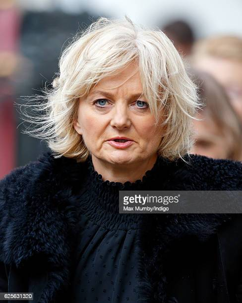 Alice Beer attends a Service of Thanksgiving to celebrate 60 years of The Duke of Edinburgh's Award at Westminster Abbey on November 24 2016 in...
