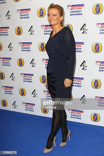 Alice Beer attends British Comedy Awards at Indigo at O2 Arena on January 22 2011 in London England