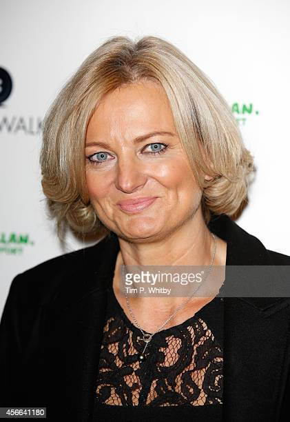 Alice Beer attends CoatWalk in aid of Macmillan Cancer Support at One Great George Street on October 4 2014 in London England