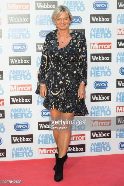 Alice Beer attends the Daily Mirror RSPCA Animal Hero awards at Grosvenor House on September 6 2018 in London England