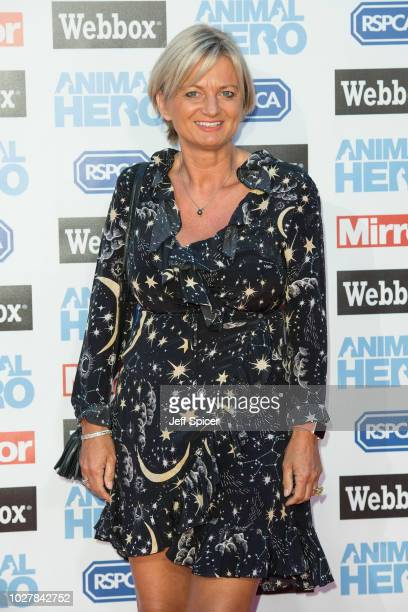 Alice Beer attends the Daily Mirror & RSPCA Animal Hero awards at Grosvenor House on September 6, 2018 in London, England.