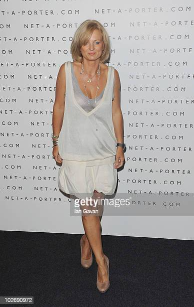 Alice Beer attends the NetAPorter 10 Birthday Party at Westfield on July 7 2010 in London England