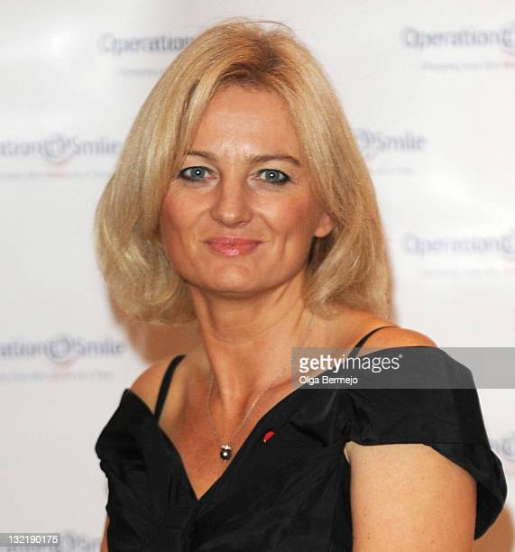 Alice Beer attends the Operation Smile Ball 10th Anniversary at the Hurlingham Club Ranelagh Gardens on November 10 2011 in London United Kingdom