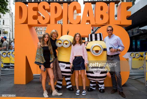 Alice Beer attends the special screening of Despicable Me 3 at Odeon Leicester Square on June 25 2017 in London England