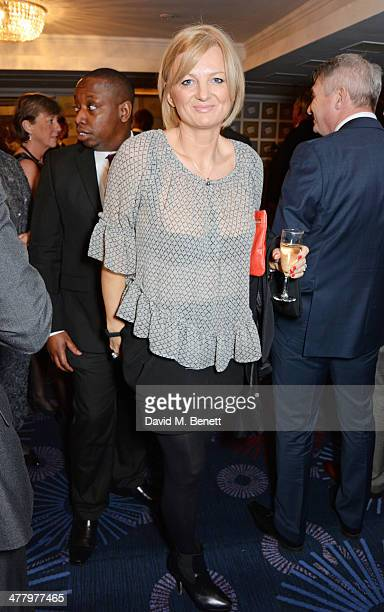 Alice Beer attends the TRIC Television and Radio Industries Club Awards at the Grosvenor House Hotel on March 11 2014 in London England