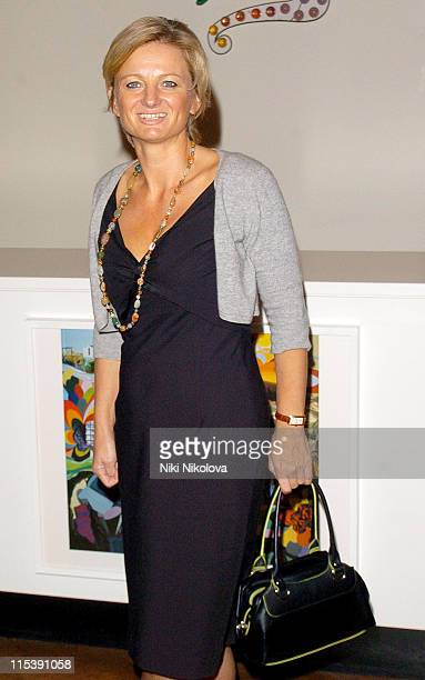 Alice Beer during Audi Makes Broadcasting History Celebrity Photocall at Saatchi Gallery in London Great Britain