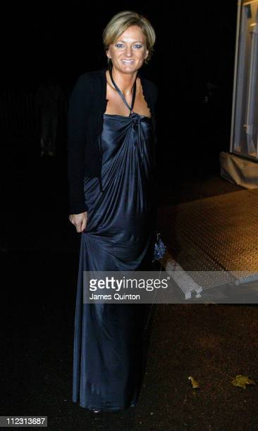 Alice Beer during Night of The Stars Ball November 26 2005 at Royal Hospital Gardens in London Great Britain