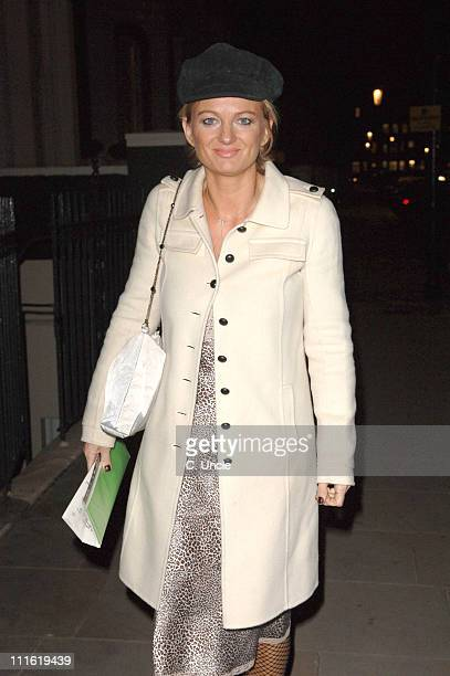 Alice Beer during Ruinart Jane Asher Cakes Arrivals at Blakes Hotel in London Great Britain