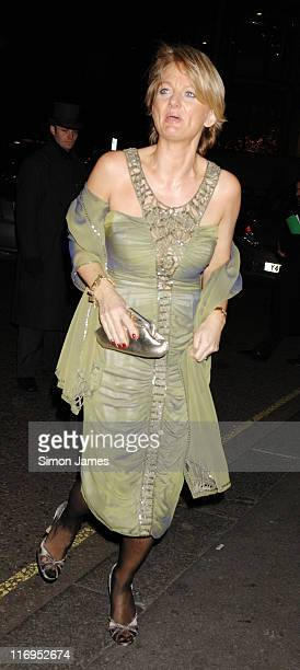 Alice Beer during The Hair Beauty Benevolent Valentine Ball February 6 2006 at London Hilton in London Great Britain