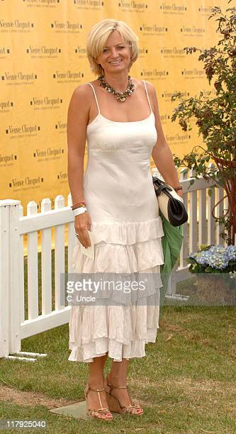 Alice Beer during The Veuve Clicquot Gold Cup July 23 2006 at Cowdray Park in Midhurst West Sussex United Kingdom