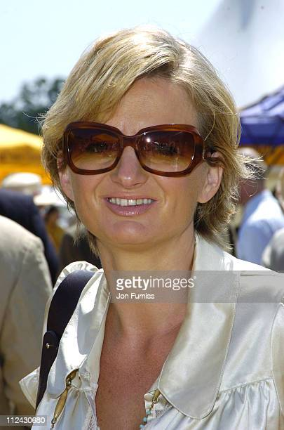 Alice Beer during The Veuve Clicquot Gold Cup Polo Final July 17 2005 at Cowdray Park in West Sussex Great Britain