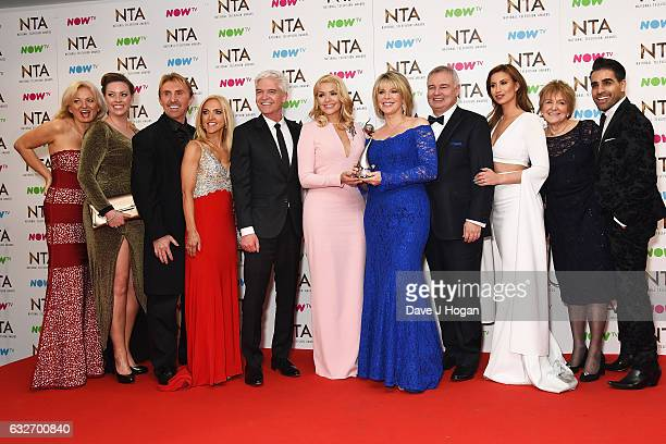 Alice Beer Sharon Marshall Nik Speakman Eva Speakman Phillip Schofield Holly Willoughby Ruth Langsford Eamon Holmes Ferne McCann Diedre Sanders and...
