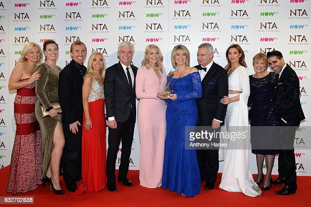 Alice Beer Sharon Marshall Nik Speakman Eva Speakman Phillip Schofield Holly Willoughby Ruth Langsford Eamonn Holmes Ferne McCann Diedre Sanders and...