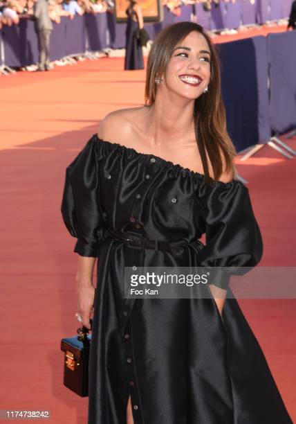 Alice Belaidi attends the Award Ceremony during the 45th Deauville American Film Festival on September 14 2019 in Deauville France