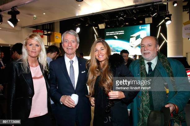 Alice Bertheaume JeanClaude Narcy Delphine Marang Alexandre and Marc Lambron attend the Star Wars x Renault Party at Atelier Renault on December 13...