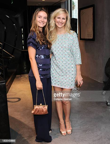 Alice Braccini and Alison Balsom attend Stephen Webster New Collections Launch Event at Beverly Hills Flagship Store at Stephen Webster on August 20...
