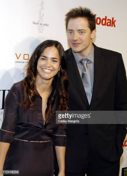 Alice Braga and Brendan Fraser during 5th Annual Tribeca Film Festival Journey to the End of the Night Premiere After Party Premiere Film Music...