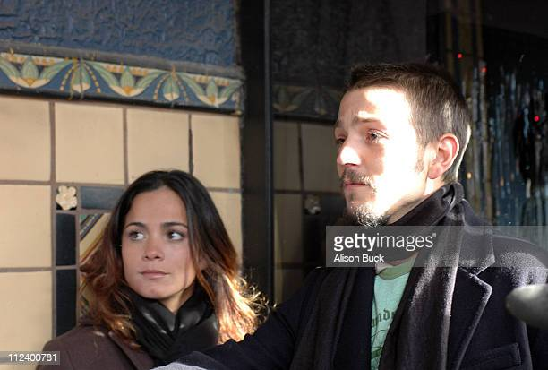 Alice Braga and Diego Luna during 2006 Sundance Film Festival Solo Dios Sabe Premiere at Egyptian Theatre in Park City Utah United States