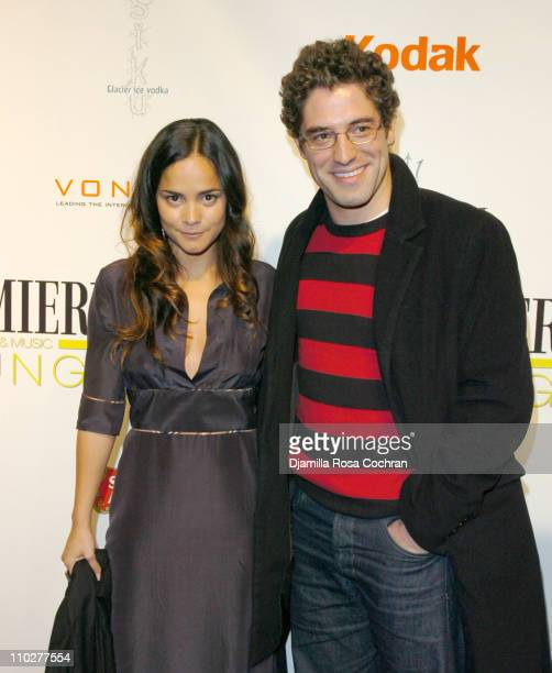 Alice Braga and Nuno Lopes during 5th Annual Tribeca Film Festival Journey to the End of the Night After Party at PM Lounge in New York City New York...
