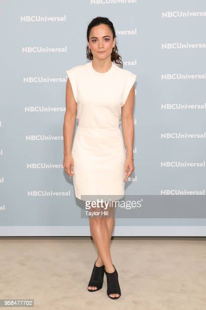 Alice Braga attends the 2018 NBCUniversal Upfront Presentation at Rockefeller Center on May 14 2018 in New York City
