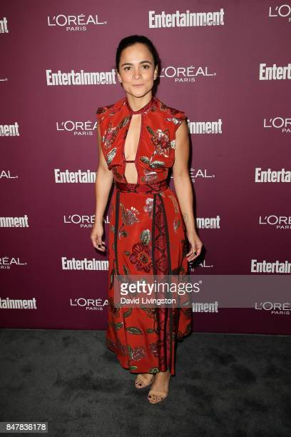 Alice Braga attends the Entertainment Weekly's 2017 PreEmmy Party at the Sunset Tower Hotel on September 15 2017 in West Hollywood California
