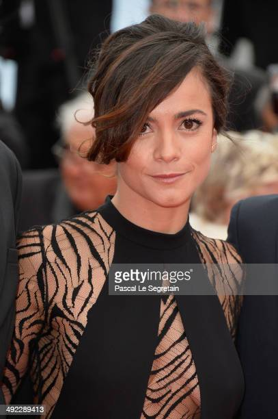 Alice Braga attends the 'Foxcatcher' premiere during the 67th Annual Cannes Film Festival on May 19 2014 in Cannes France