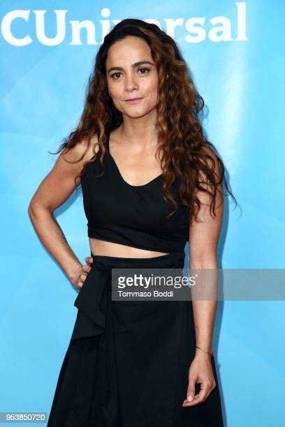 Alice Braga attends the NBCUniversal Summer Press Day 2018 at Universal Studios Backlot on May 2 2018 in Universal City California