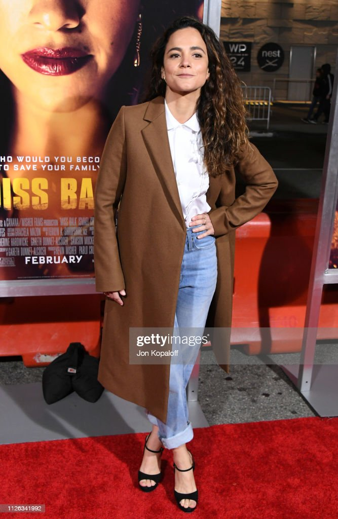"""Premiere Of Columbia Pictures' """"Miss Bala"""" - Arrivals : News Photo"""