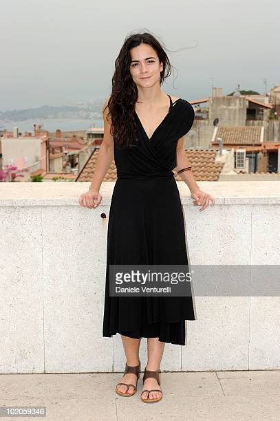 Alice Braga attends the Taormina Film Fest 2010 Photocall on June 14 2010 in Taormina Italy