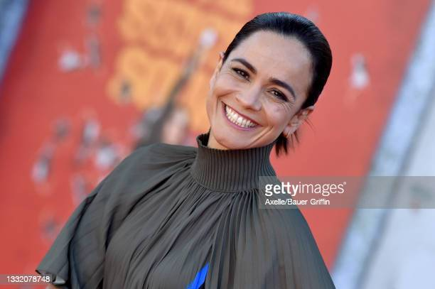 """Alice Braga attends Warner Bros. Premiere of """"The Suicide Squad"""" at The Landmark Westwood on August 02, 2021 in Los Angeles, California."""