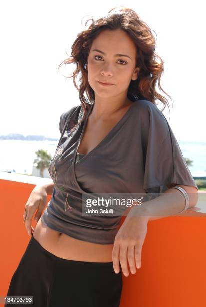 Alice Braga during 2005 Cannes Film Festival 'Lower City' Portraits in Cannes France