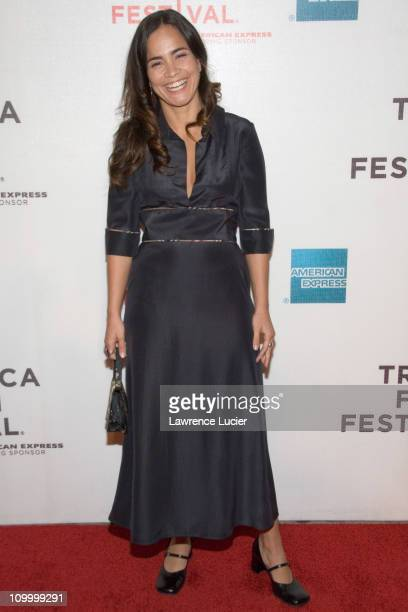 Alice Braga during 5th Annual Tribeca Film Festival Journey To the End Of The Night Arrivals at Tribeca Performing Arts Center in New York City New...