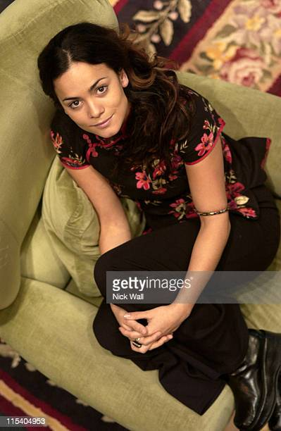 Alice Braga during The Times BFI London Film Festival 2005 'Lower City' at Odeon West End in London Great Britain