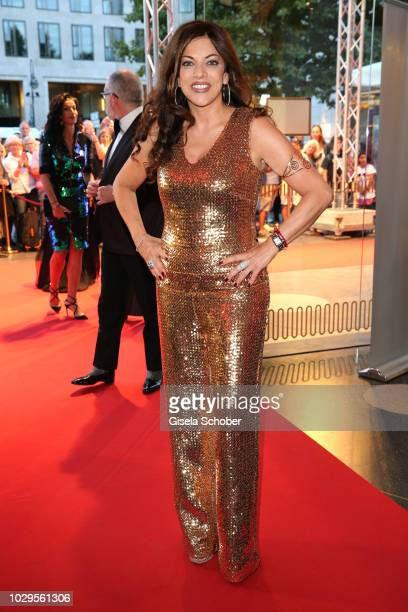 Alice Brauner during the 100th bitrhday celebration gala for Artur Brauner at Zoo Palast on September 8 2018 in Berlin Germany Artur Brauner is a...