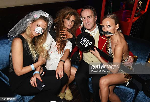 Alice Brudenell Bruce Jemima Khan Angus Deayton and Martha Ward attend The Unicef UK Halloween Ball raising vital funds to support Unicef's...