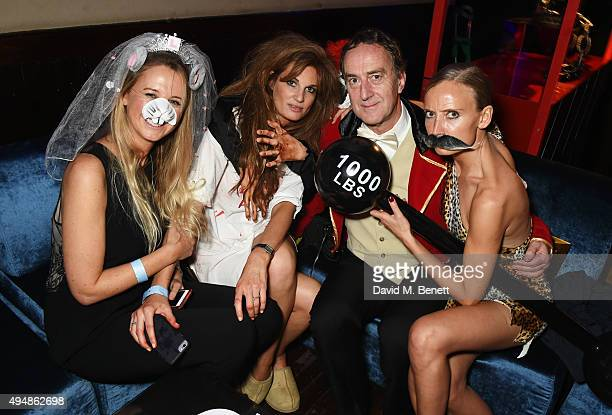 Alice BrudenellBruce Jemima Khan Angus Deayton and Martha Ward attend The Unicef UK Halloween Ball raising vital funds to support Unicef's lifesaving...