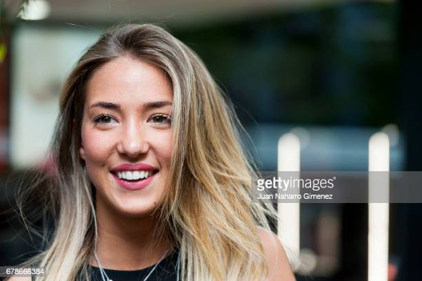 Alice Campello attends 'Alfieri St Johns' inaguration on May 4 2017 in Madrid Spain
