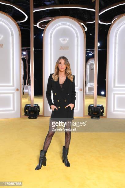 Alice Campello attends the Calzedonia Leg Show 2019 on October 08 2019 in Verona Italy