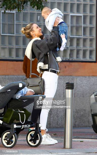 Alice Campello is seen on February 13 2019 in Madrid Spain
