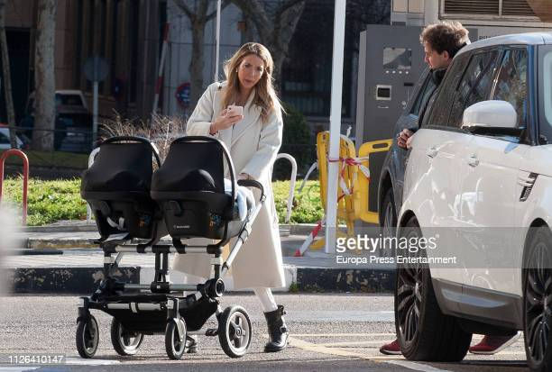 Alice Campello is seen on January 30 2019 in Madrid Spain