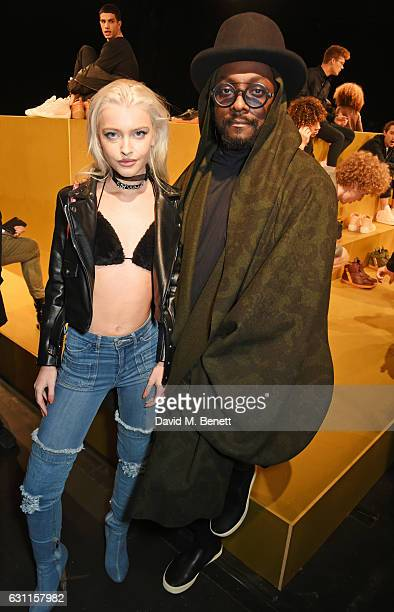 Alice Chater and william attend the MCCVIII presentation during London Fashion Week Men's January 2017 collections at Institute Of Contemporary Arts...