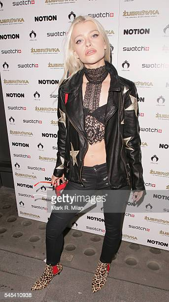 Alice Chater at Cuckoo Club on July 7 2016 in London England