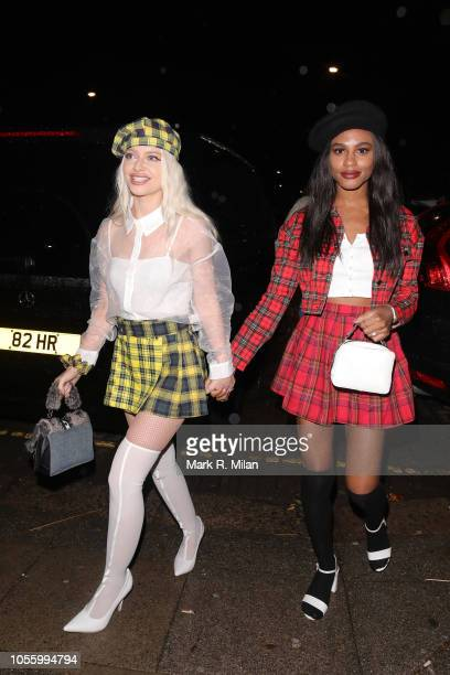 Alice Chater attending Rita Ora's Halloween party at Laylow on October 31 2018 in London England