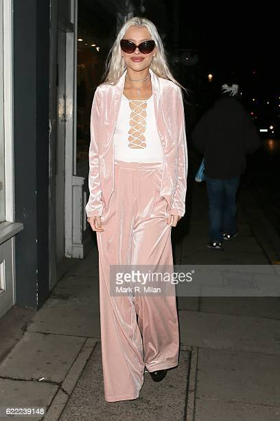 Alice Chater attending the 5 Years of Gazelli party on November 10 2016 in London England