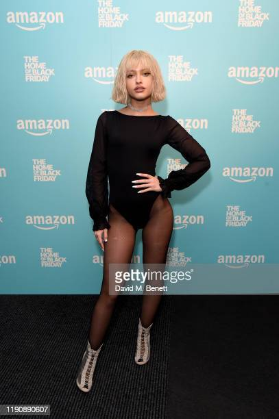 Alice Chater attends an exclusive gig for Prime members at Amazons Home of Black Friday on November 29 2019 in London England
