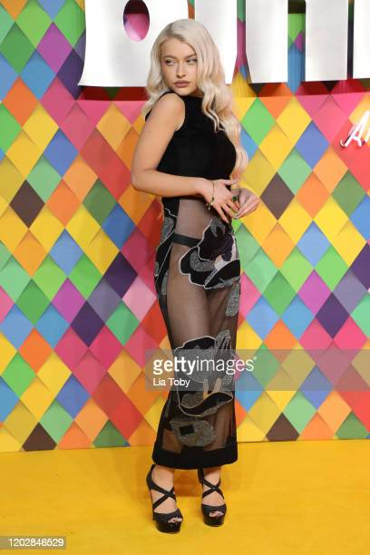 Alice Chater attends the Birds of Prey And the Fantabulous Emancipation Of One Harley Quinn World Premiere at the BFI IMAX on January 29 2020 in...