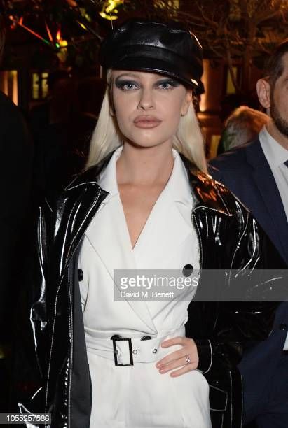 Alice Chater attends the GQ 30th anniversary party at SUSHISAMBA Covent Garden on October 29 2018 in London England