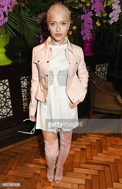 Alice Chater attends the launch of new luxury hotel The LaLit London on January 26 2017 in London England